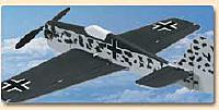 The Focke Wulf-190 has the same wing and measurements as the P-51.