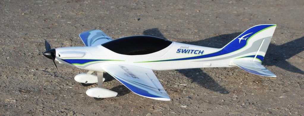Hobbico Flyzone Tx-R Mini Switch with High &amp; Low Wing