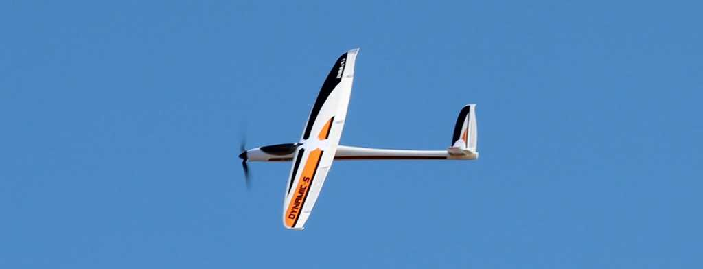 DuraFly Dynamic-S Performance Electric V-Tail Sailplane Plug