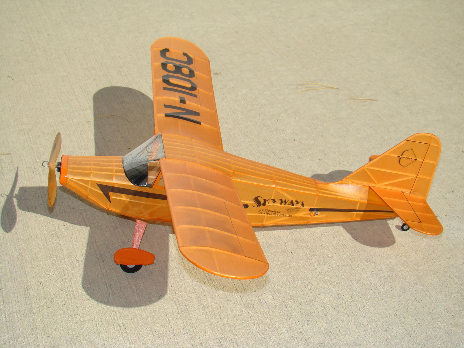 Pat Tritle designed Stinson Voyager A really nice thought out design and easy to build.