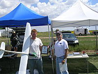 Name: Matt Aurand with his Radian Pro with Phil Gilbert.jpg