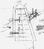 Name: B-29 pencil sketch of rudder build.jpg