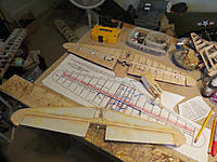 Name: B-29 Elevator old and new rebuild.jpg