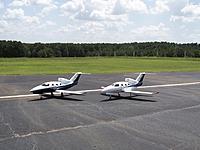 Name: 100_0193.jpg Views: 50 Size: 633.4 KB Description: HK Victory Jet (blue belly) RPM USA (white belly)
