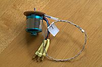 Name: Stock Motor with FrSky Temp Probe attached.jpg