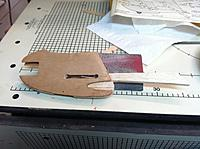 Name: IMG_1155[1].jpg Views: 28 Size: 572.9 KB Description: Fuse in three pieces. two planks of plywood and a top and bottom of balsa for fuse.