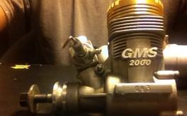 GWS 2000 Nitro with Muffler - 50.00 shipped