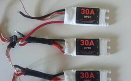 (3) DJI 30A Opto ESCs