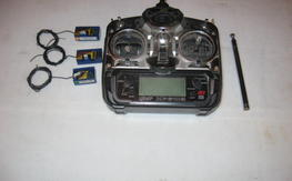 JR 6102 Radio and 3 receivers