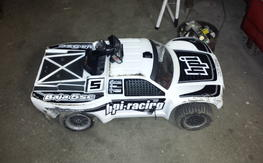 HPI Baja 5 SC with lots of extras parts