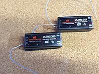 Spektrum AR635 receivers with AS3X Technology Usex