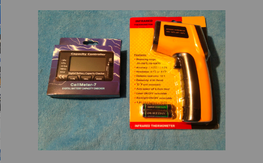 Infrared Thermometer Digital Battery Lipo Tester Combo $30 Shipped