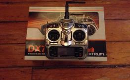 Spektrum DX7 TX Transmitter Mode 2 DX 7 DSM2