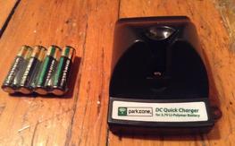 E-flite Parkzone EFLC1000 EFLC1003 Battery Charger 3.7V .3 Amp $13 shipped