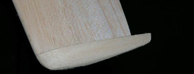 Shaping the wing tip to match the curves of the wing