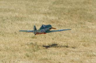 This one slows down nicely with no bad habits noticed on landing.