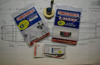 Common Sense RC provided a complete power system for this review.