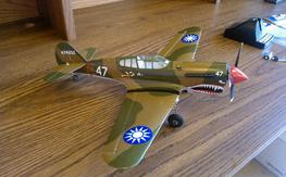 Park Zone P-40 Micro with AS3X