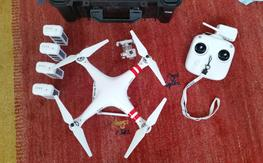 Phantom 2 Vision+ Plus, 4 batteries, Hard Case