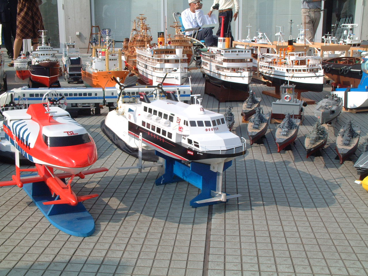 participate in this All Japan Model Ship Convention in  kurashiki okayama Japan