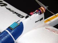 Name: UHU.jpg Views: 629 Size: 50.8 KB Description: Overlander Tornado 400 BM 2900 brushless motor and Quark 33Amp ESC