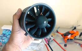 taft 90mm viper jet edf unit w motor