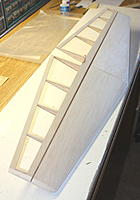 Name: ht33.jpg Views: 168 Size: 266.4 KB Description: end view - finished horizontal tail (hinges not yet glued)