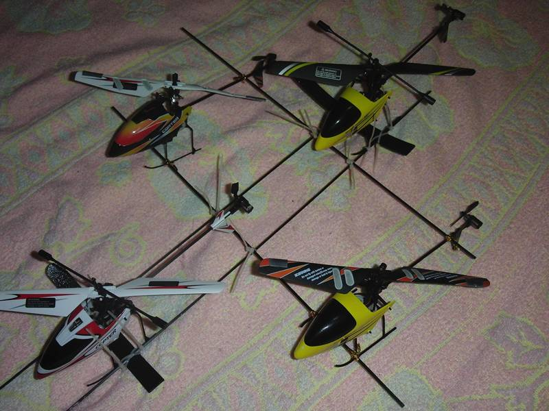 real quad helicopter!