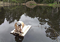 Name: RC-Airboat-Maiden-Voyage-0056_2.jpg Views: 36 Size: 158.6 KB Description: Glassy on the lake today