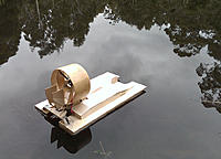 Name: RC-Airboat-Maiden-Voyage-0055_1.jpg Views: 35 Size: 275.9 KB Description: Slight weight bias towards the rear (without any adjustment)