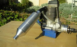 OS 91 Surpass Fourstroke with pump