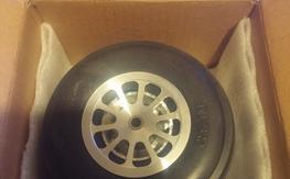 "Brand new 5"" Aluminum hub 10 spoke Wheels"