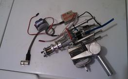 AGM(dle) 30cc gas motor w/Pitts+bowman ring