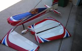 "LPU: 3D Hobby Shop 72"" extra 330sc airframe"