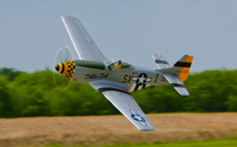 P-51D Mustang BNF Basic with AS3X� Technology (EFL6750)