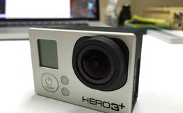 GoPro 3+ LIKE NEW BLACK EDITION.