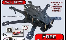 Carbon Fiber FPV Hexacopter COMBO!