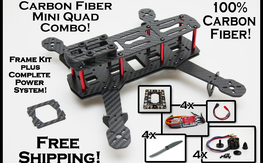 Carbon Fiber Mini H Package Deal! Free ZTW upgrade!