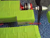 Name: magnet.jpg Views: 30 Size: 177.9 KB Description: Magnet in the upper fuse and one in the wing under the tape.