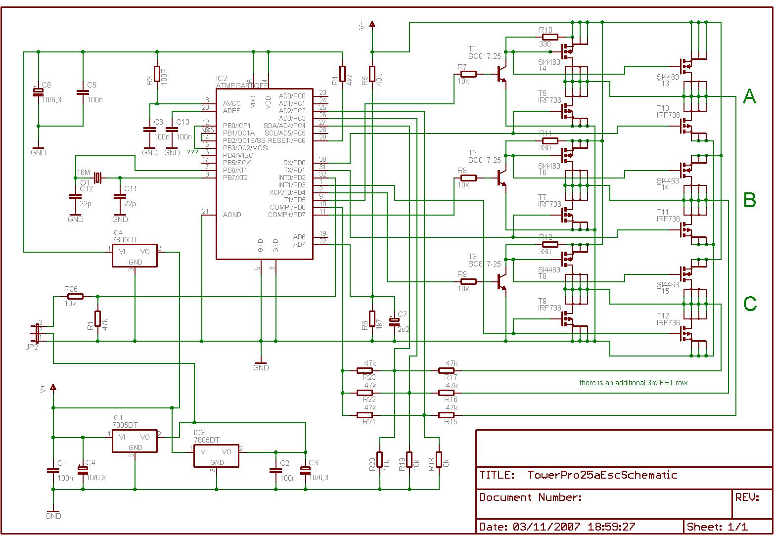 Схемы управления вентильными двигателями