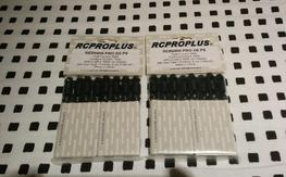 RCPROPLUS SUPRA-X REB6808 PRO D6 6mm Bullet Connectors (2 packs of 4 pairs)