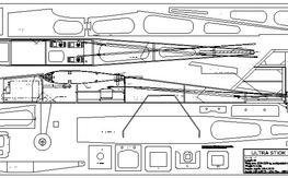 UltraStick 120 lite plus Nomad vintage sailplane