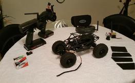 vaterra slickrock 1/18 and fpv setup predator v2