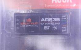 BNIB Spektrum AR635 AS3X Receiver