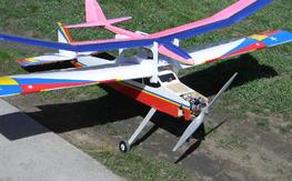 """Aero Tug, Abell RC Aerial Video, 86"""" Wing Span"""