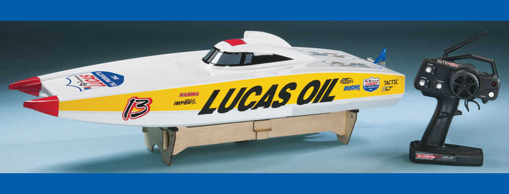 Lucas Oil Brushless FE Catamaran