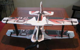 """Twisted Hobbies 30"""" Cracked Pitts + 4 Lipos"""