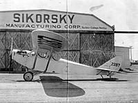 Name: AL79-027 Curtiss JN-4 NC2287 modified to monoplane with a Sikorsky wing for HJ White 1927.jpg