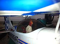 Name: Foghorn in cockpit looks Cranky Crosseyed.jpg