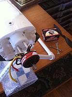 Name: Pitts 2 Super Tigre 10 motor mounted 02-28-13.jpg